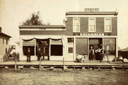 Historic photo of Walnut Grove